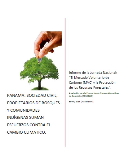 Proyecto Carbono Forestal Panamá, Apronad